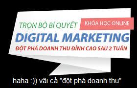 sự khác nhau giữa học digital marketing và thực tế